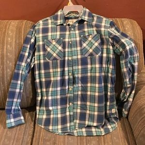 Large American Eagle Button Down Shirt
